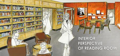 Reading room rendering WEB