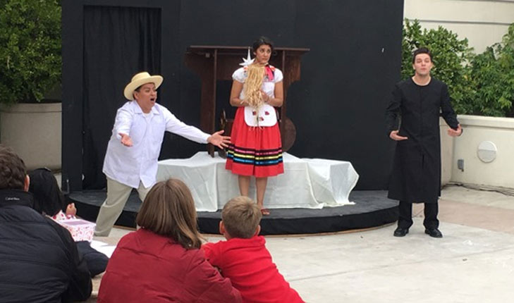 Scene from Lucinda children's opera