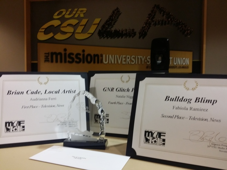 Awards from CSU MEDIA ARTS FESTIVAL