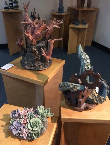 Ceramics Exhibition in the Dean's Gallery