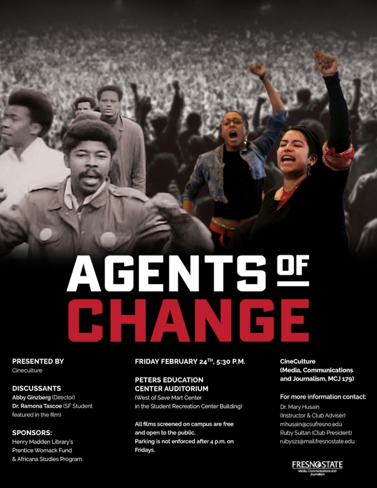 Cineculture Agents of Change