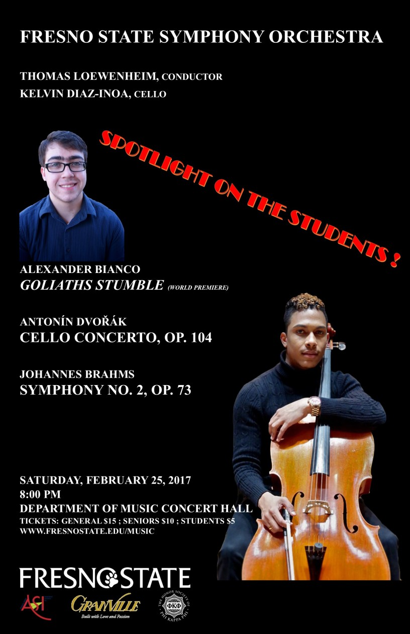 Symphony Orchestra's Spotlight on Students