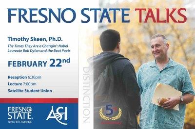 Fresno State Talks speaker Tim Skeen