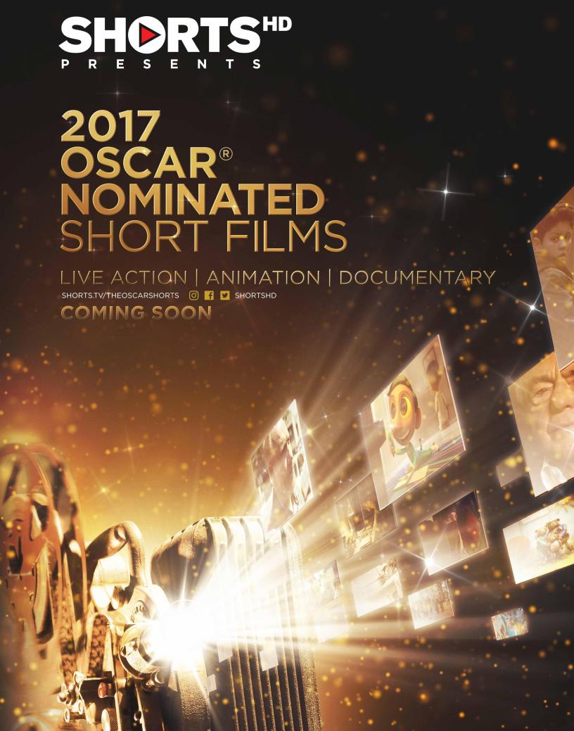 Screening of Oscar-nominated short films