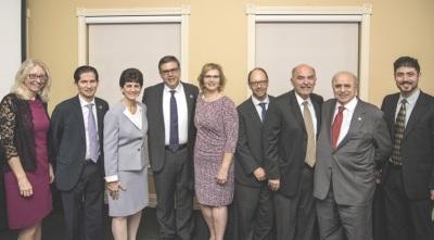 VIPs at Armenian Studies banquet
