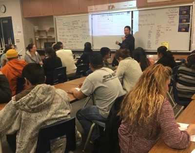 ESL class at Fresno Adult School