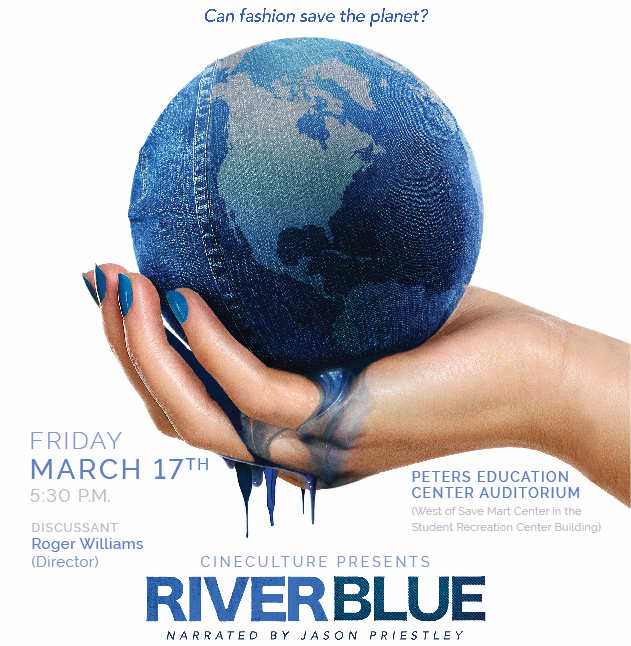 CineCulture flyer for screening of RiverBlue