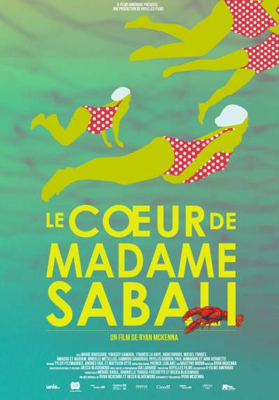 "Flyer for CineCulture screening of ""Le Coeur de Madame Sabali"""