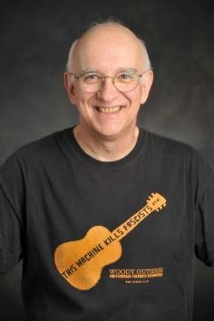 Tony Seeger Tshirt portriat 2011 in small format