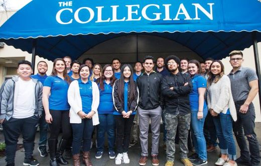 The Collegian student newspaper staff