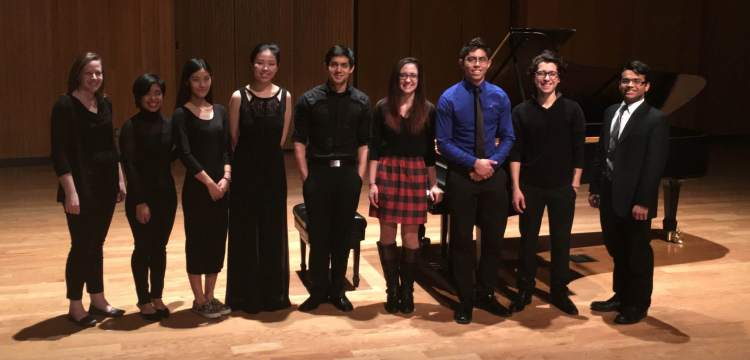 Fresno State Piano Majors