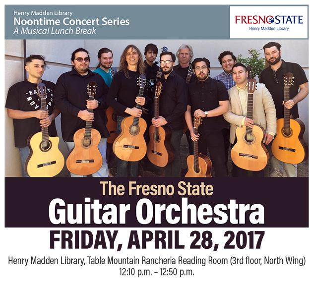 Guitar Orchestra Noontime Concert