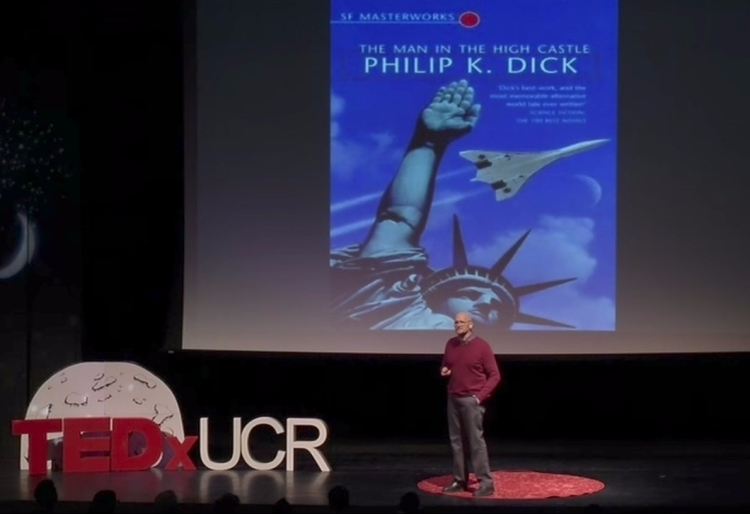 English Professor Howard Hendrix gives a TEDx Talk at UC Riverside.