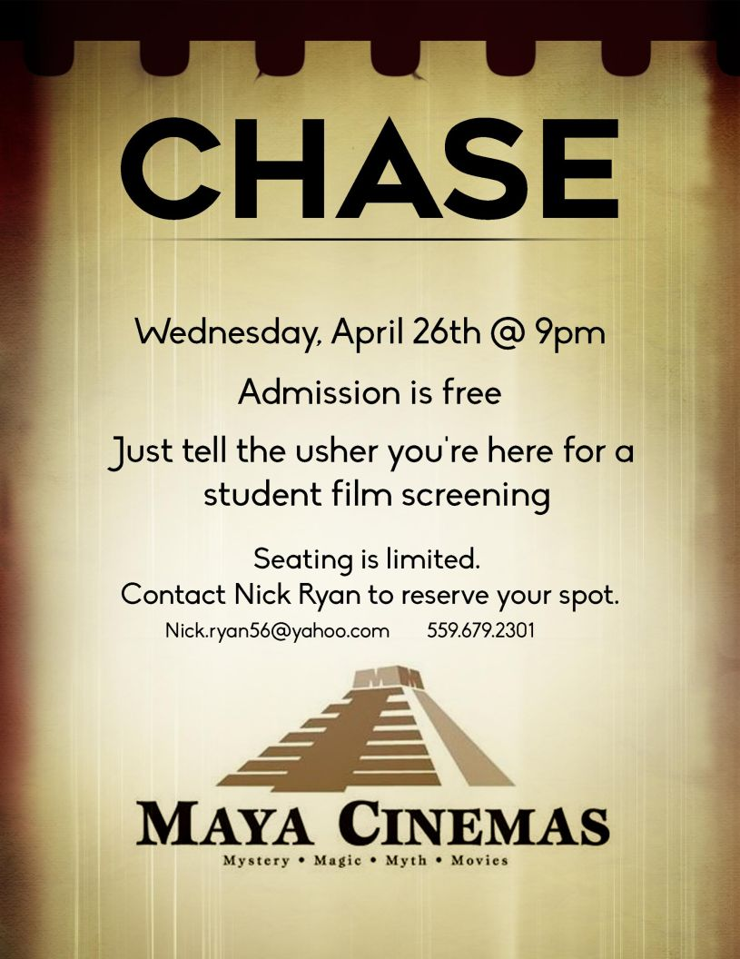 student film screening