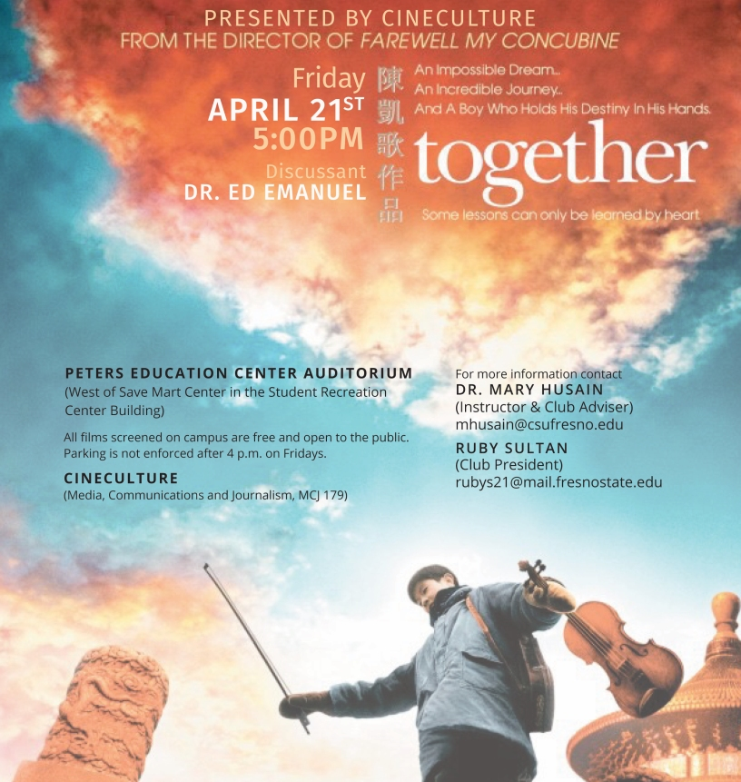 Flyer for Together with You