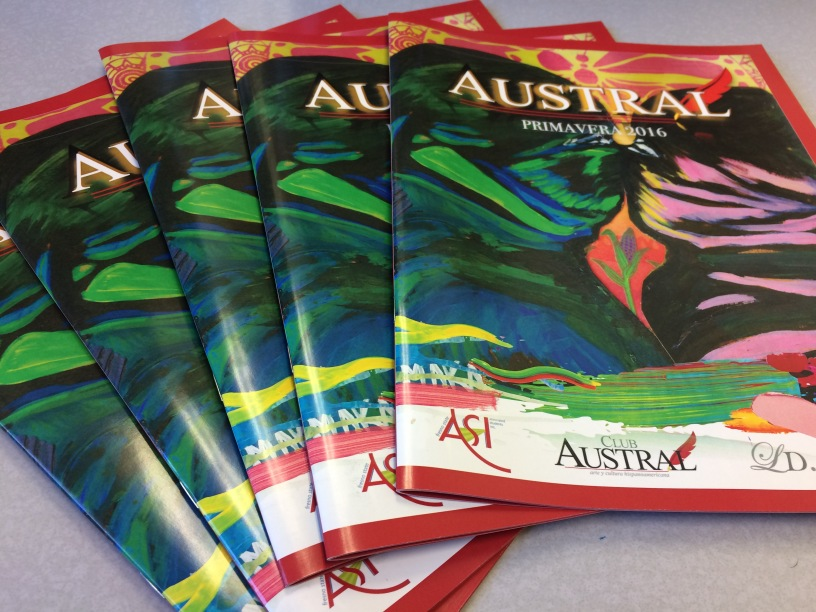 Club Austral literary magazines