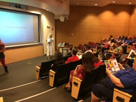 Honora Chapman delivers keynote address