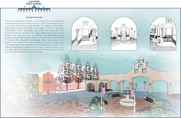 Design Students Concept For Hispanic Cultural Site Earns