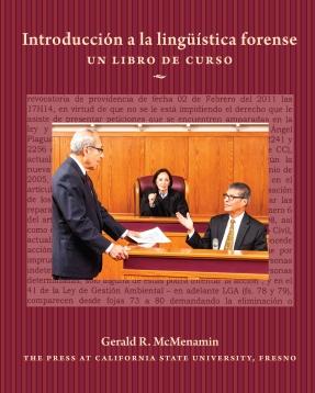 """Book cover of """"Introducción a la lingüística forense"""""""