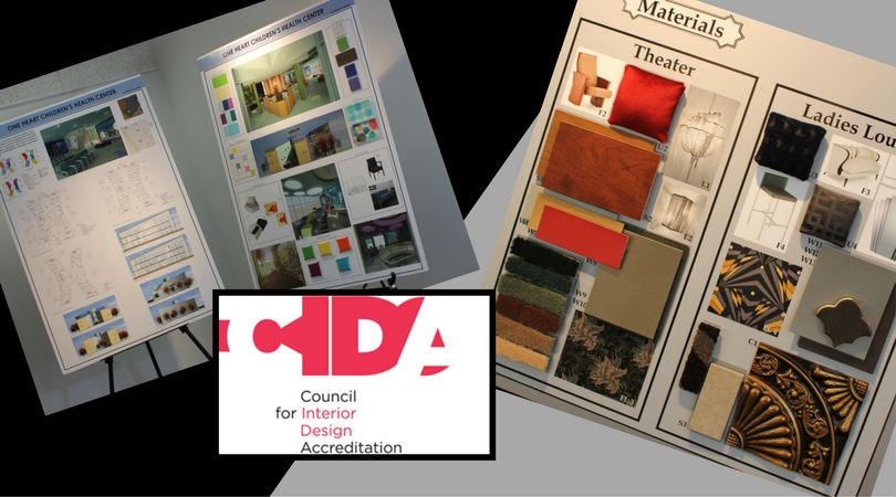 interior design program receives re accreditation the college of