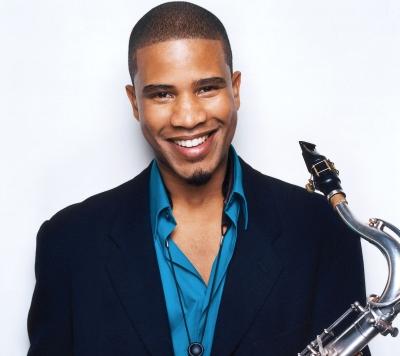 Latin jazz saxophonist David Sanchez