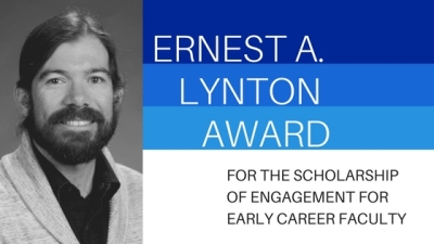 Jes Therkelsen selected as a finalist for Ernest A. Lynton Award