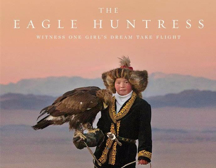 "Poster for ""The Eagle Huntress"" film"