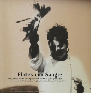 "Book cover of ""Elotes con Sangre"""