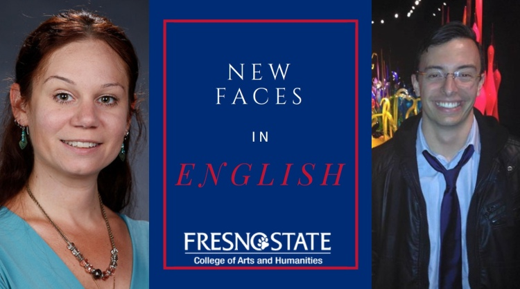 Two new English professors, Dr. J. Ashley Foster and Dr. Alexander Adkins Jaramillo