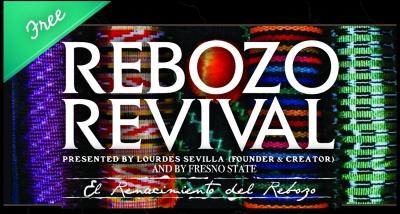 Flyer for Rebozo Revival Festival