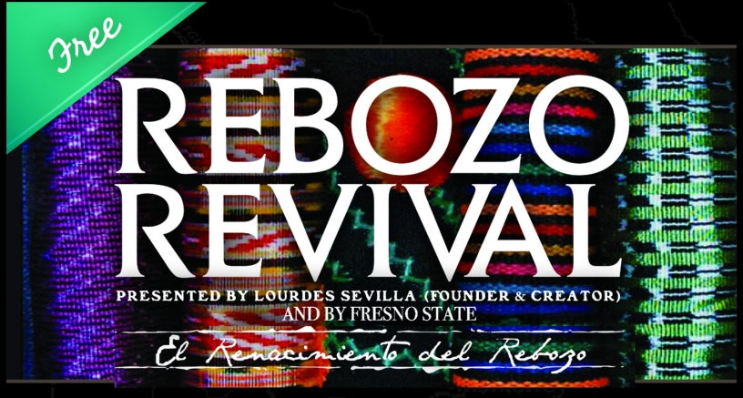 Flyer for Rebozo Revival Festival