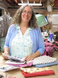 Costume designer Kristine Doiel