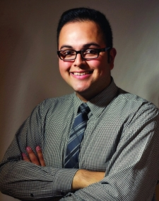Box office and communications coordinator Miguel Gastelum