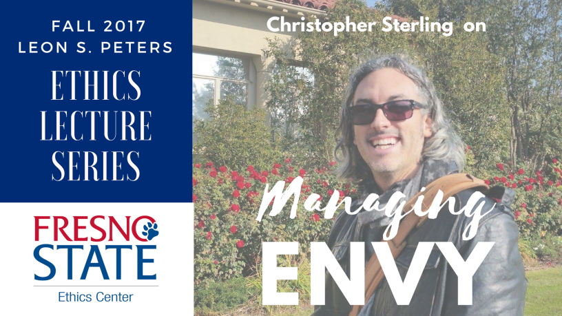 Christopher Sterling on Managing Envy