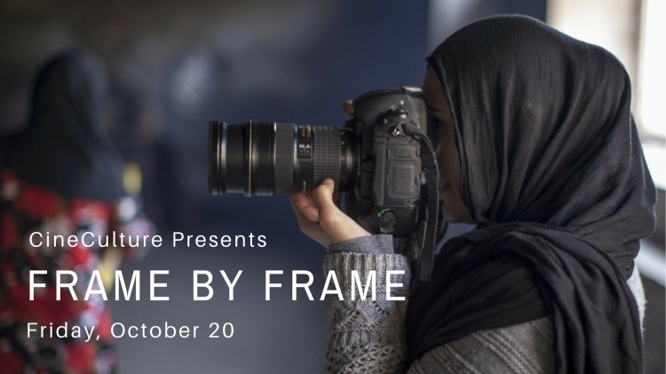"CineCulture Presents ""Frame by Frame"" Friday, Oct. 20"