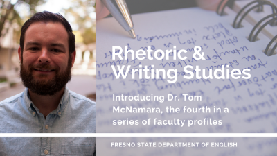 Dr. Tom McNamara, Rhetoric & Writing Studies