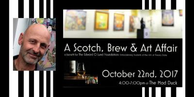 A Scotch, Brew and Art Affair benefitting The Edward O. Lund Foundation
