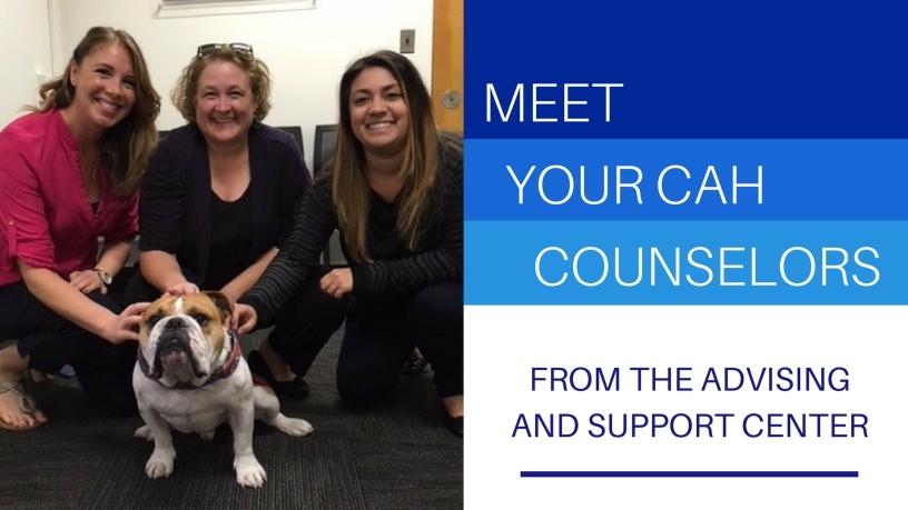 Meet your CAH counselors
