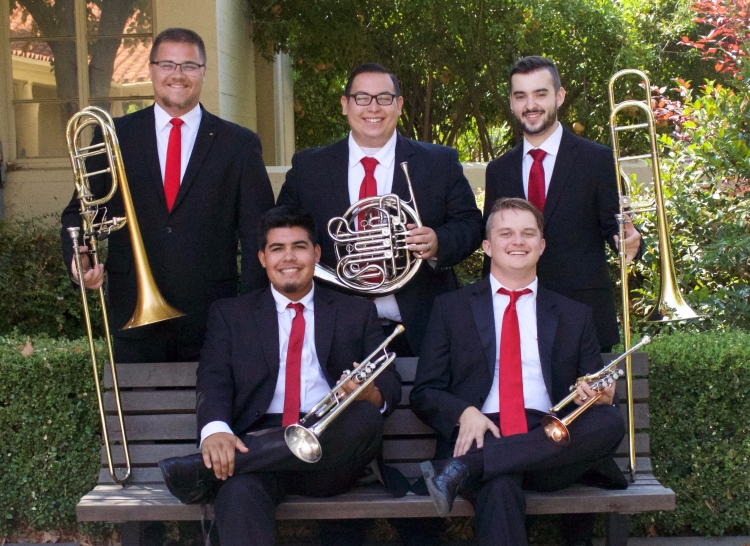 Clendenin Brass Quintet Fall 2017