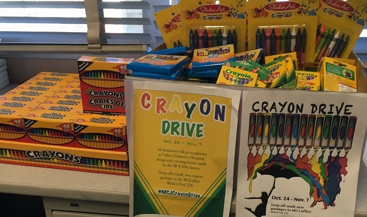 Crayon drive for Valley Children's Hospital