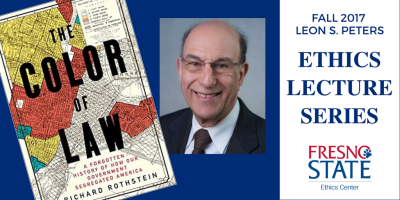"Richard Rothstein lecture on ""The Color of Law"""