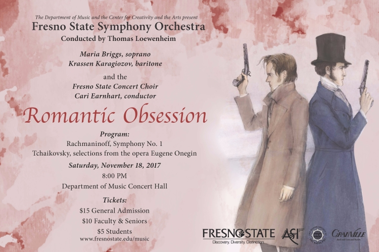 "Fresno State Symphony Orchestra presents ""Romantic Obssession"""