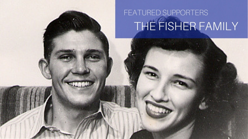 The Fisher Family - A photo of Ruth and Ray