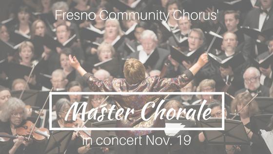 Master Chorale in concert Nov. 19
