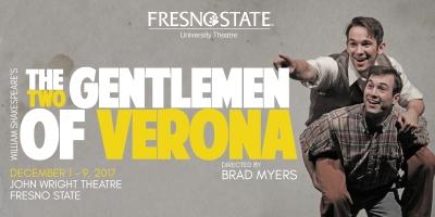 Two Gentlemen of Verona at Fresno State