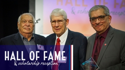 Hall of Fame & Scholarship Reception - Rosato, Tucker, Uribes