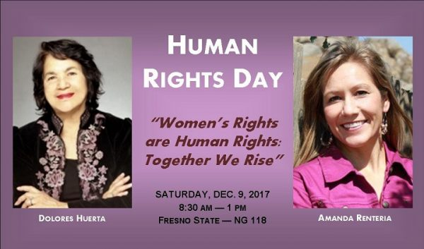 Flyer for Human Rights Day