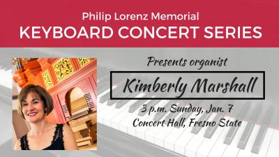 Organist Kimberly Marshall