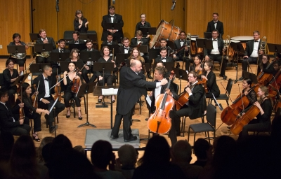 Photo from the 2017 Concerto Competition