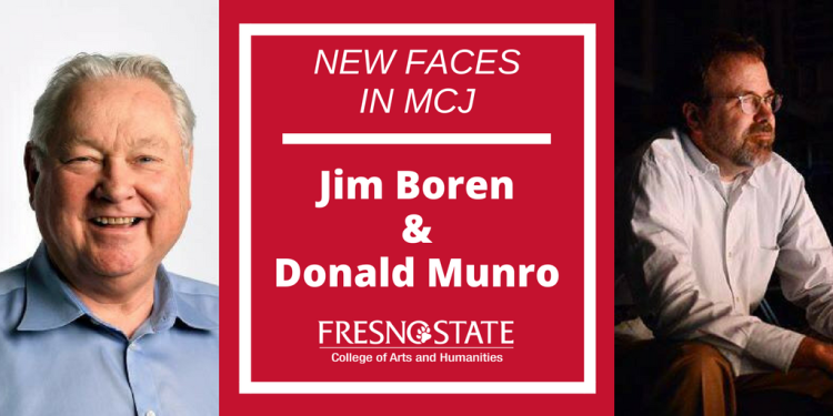 New Faces in MCJ: Jim Boren and Donald Munro